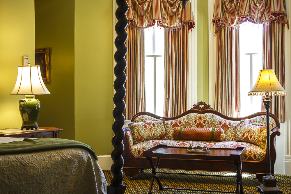 Eliza Thompson House Guest Rooms