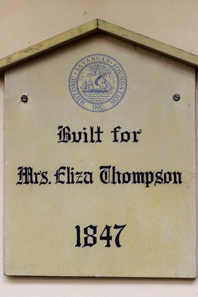 Eliza Thompson House Historic Home